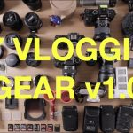 A GH4, GoPro, A7R II, EOS 80D and a load of lenses – it's all in Kai's bag