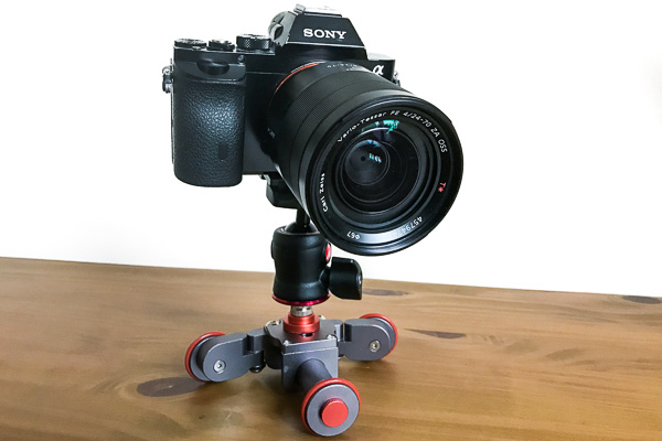 Yelangu AutoDolly with Sony A7