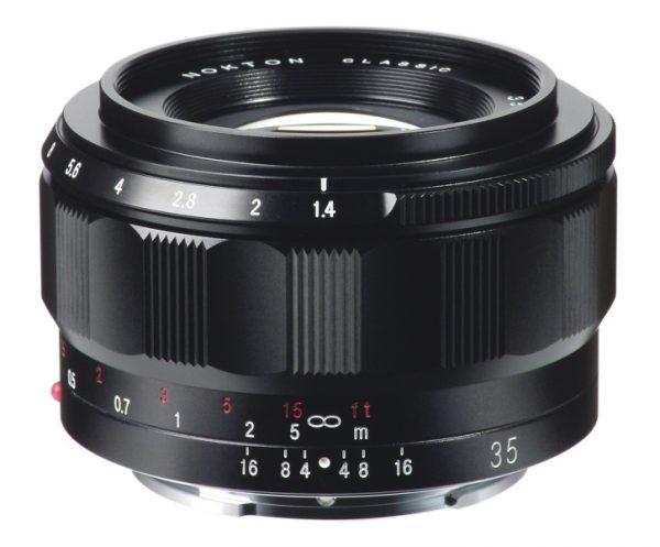 Voigtlander Classic-NOKTON 35mm f1.4 lens for Sony E-mount cameras