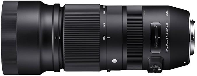 Sigma 100-40mm f/5-6.3