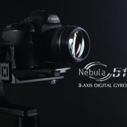 Nebula 5100 3-axis stabiliser with built-in encoders unveiled