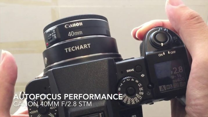 Use your Canon glass on the Fujifilm GFX 50S with the Techart EF-GFX autofocus adaptor